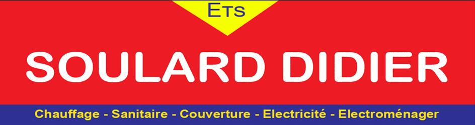 Logo de SOULARD DIDIER | Plombier, chauffagiste et électricien sur Pouzauges & Les Herbiers