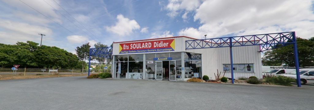 Magasin de Soulard Didier,Plombier, chauffagiste et électricien sur Pouzauges & Les Herbiers