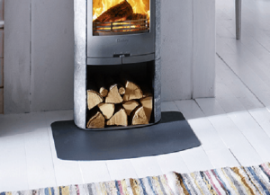 Read more about the article Plaque de sol arrondie en acier noir